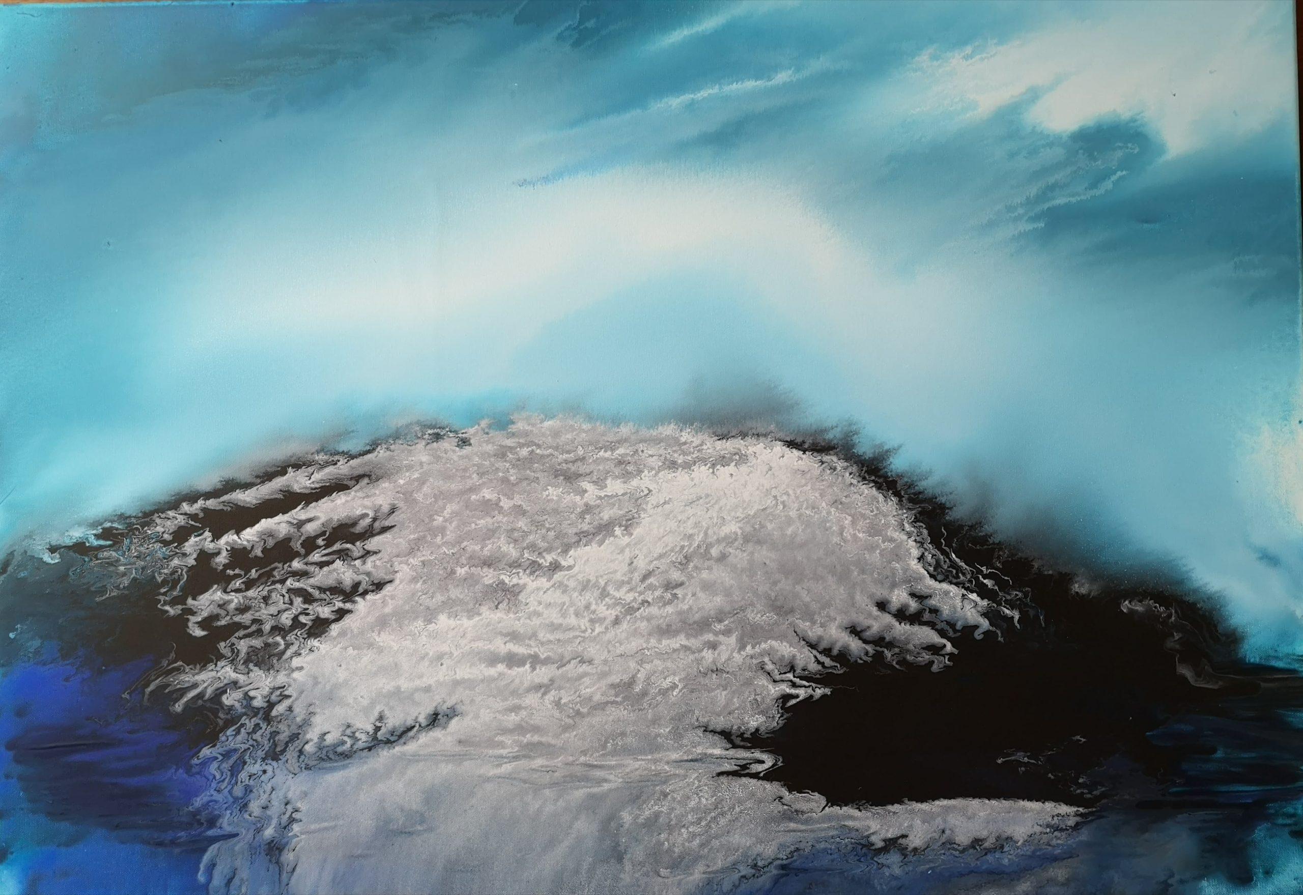 Petra Wilmes - schmelzender Gletscher